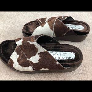 Donald Pliner Sandals Size 5 with dust bag